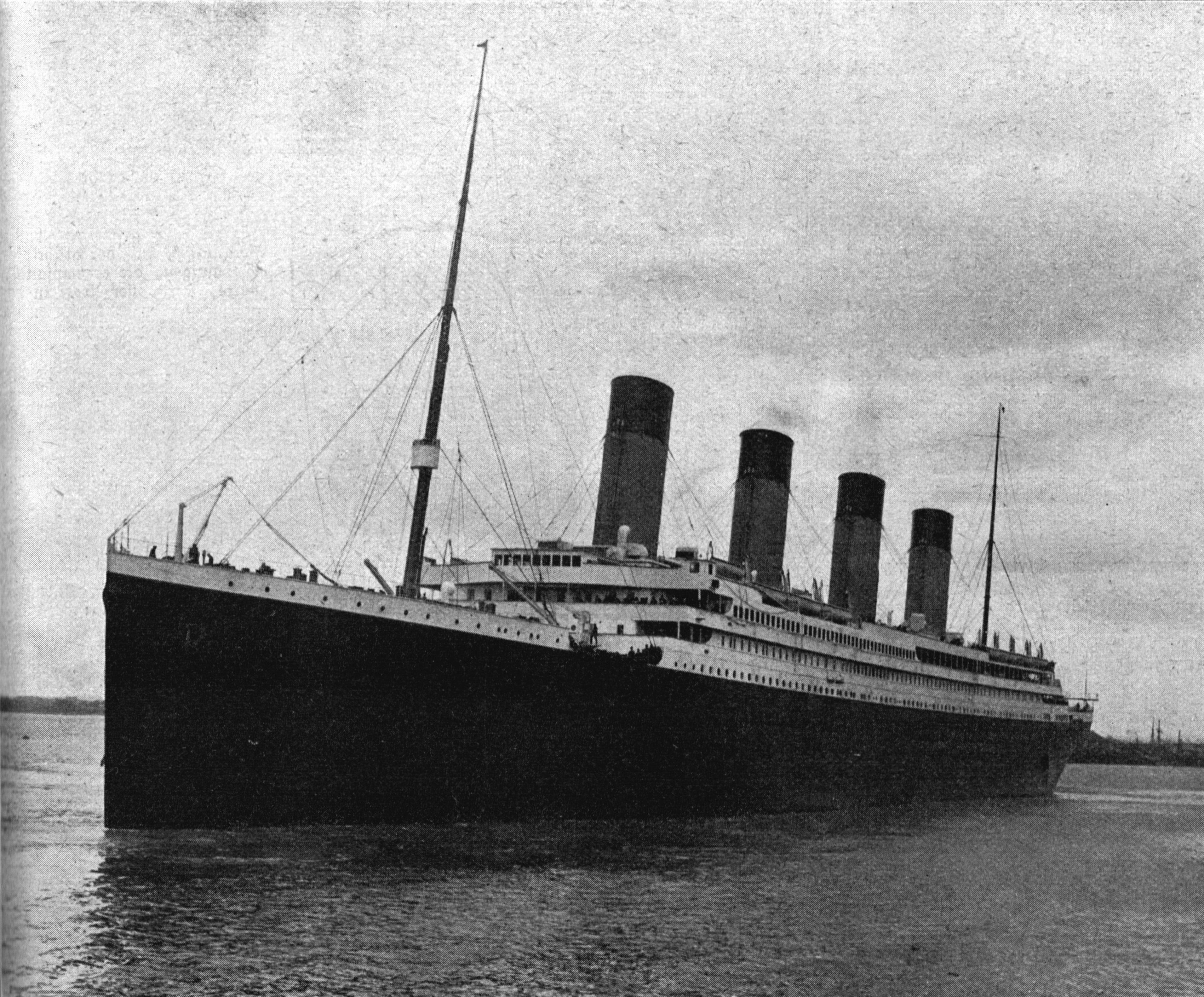le 100200me anniversaire du naufrage du titanic le 15 avril