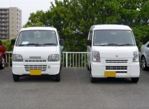 File:Suzuki CARRY (DA62T) & EVERY VAN (DA64) frontJPG