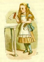 Alice in Wonderland, John Tenniel, 1865 Deutsc...