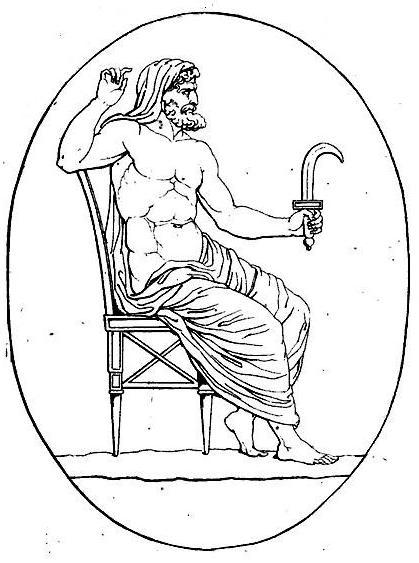 File:Cronos armé de la faucille (harpè) contre son père et divers médaillons pierre gravée crop.jpg