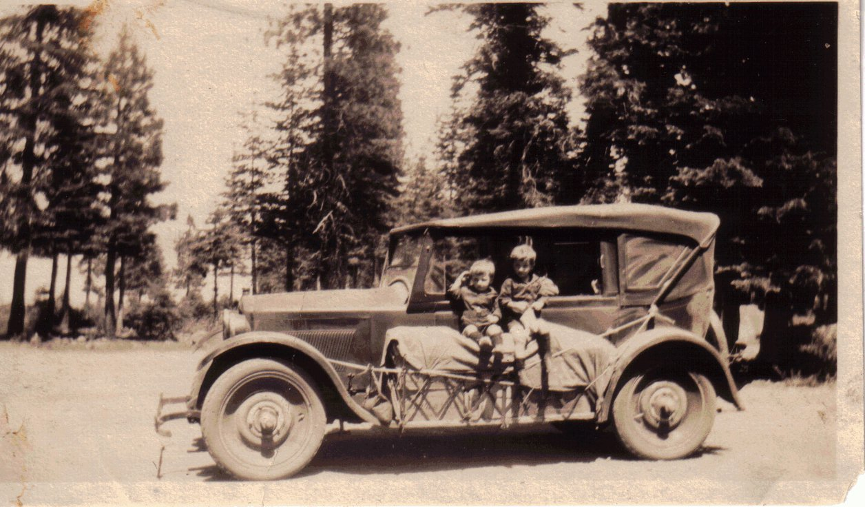 Classic Camping of the 1920's