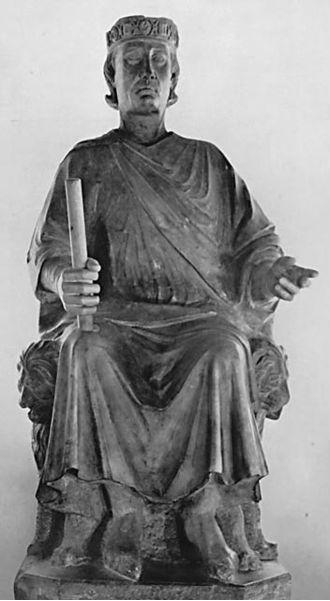 Statue Karl von Anjous von Arnolfo di Cambio