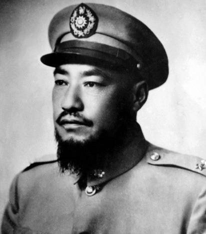 Ma Bufang (1903–1975), gouverneur du Qinghaï - Wikicommons