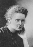 Marie Curie auf dem offiziellen Nobelpreisfoto von 1911