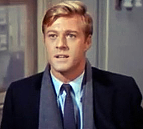 English: Robert Redford in Barefoot in the Park