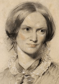 English: Charlotte Brontë, chalk, 1850. Colour...