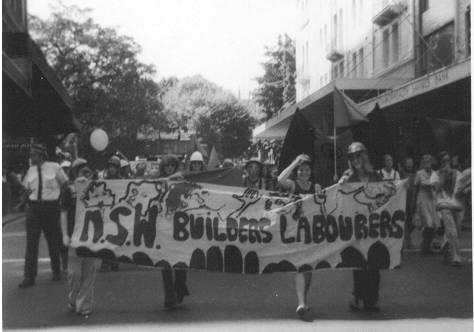 IWD March in 1975 in Sydney