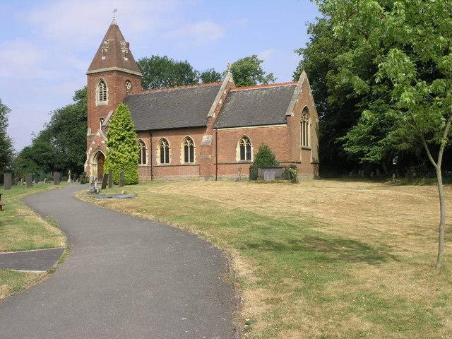 St James' parish church, Weddington, Warwickshire