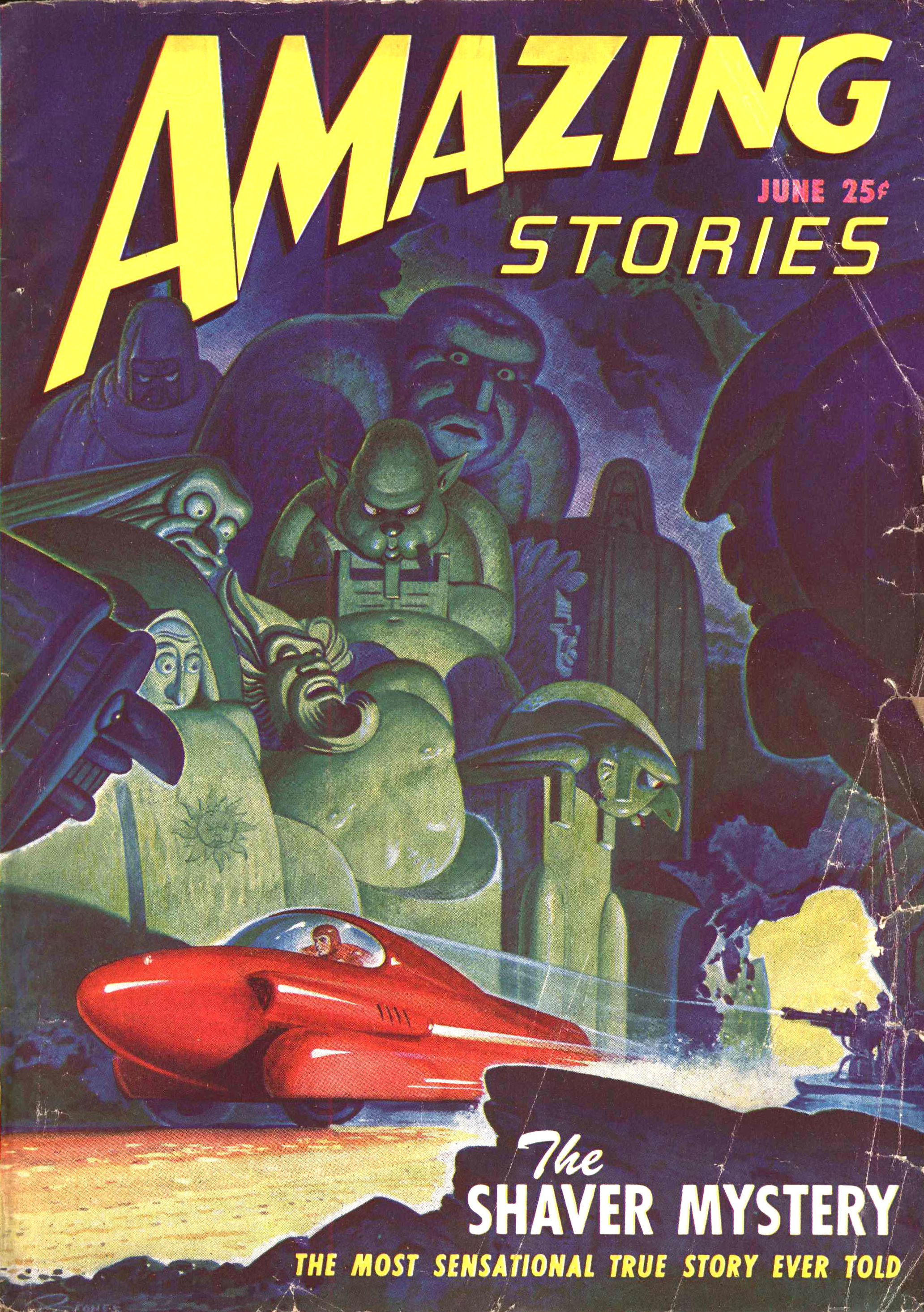 The June 1947 issue of Amazing Stories featuri...