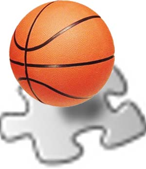 English: Basketball article stub icon