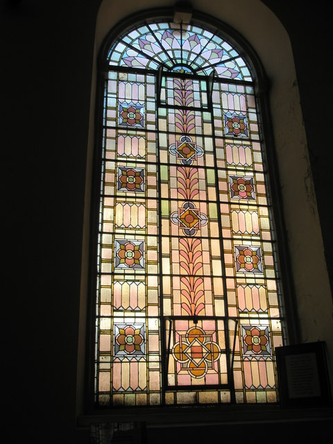 File:Exquisite stained class window within St Anne's, Bewdley