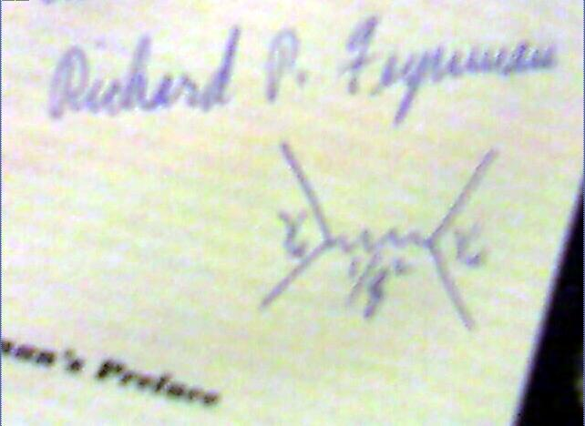 English: Picture of a Feynman diagram, inscrib...