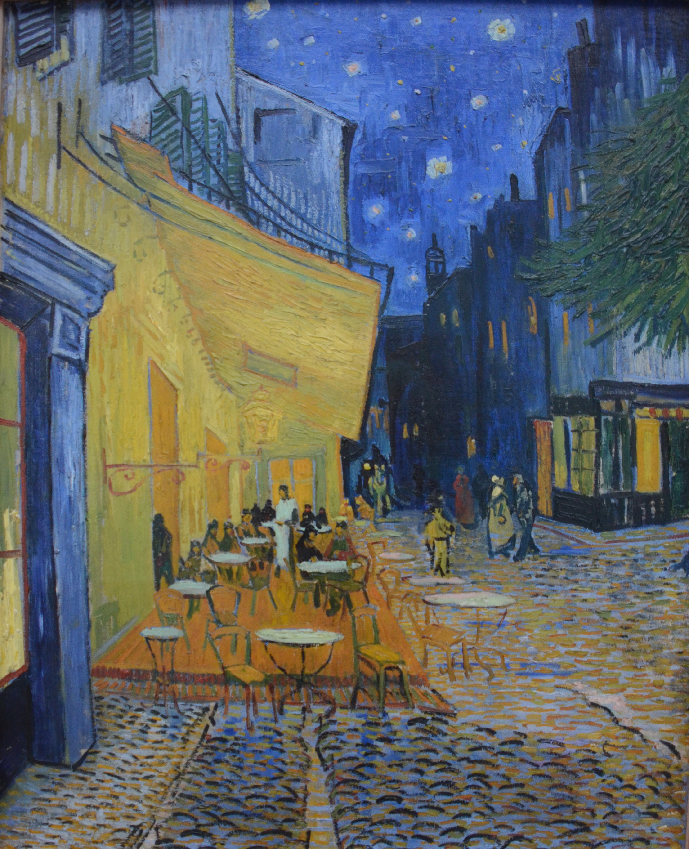File Vincent Van Gogh Cafe Terrace At Night