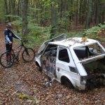 File Abandoned Polski Fiat 126p In A Forest Jpg Wikipedia