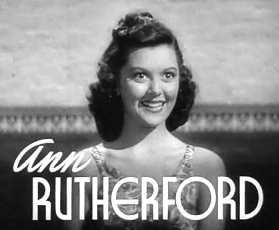 Cropped screenshot of Ann Rutherford from the ...