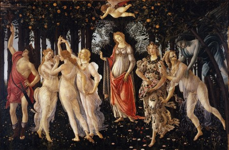 Primavera by Sandro Botticelli, 1482