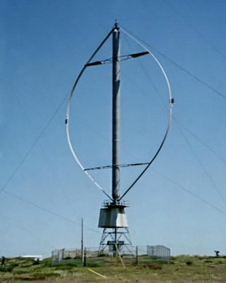 Vertical Shaft Generator, from wikipedia