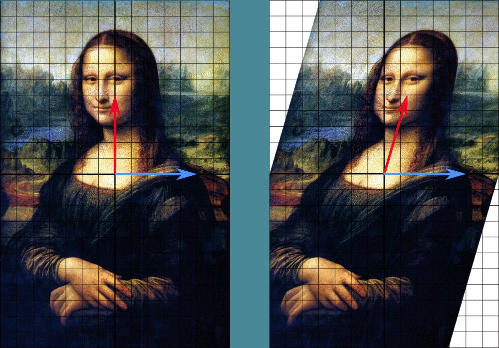 sheared Mona Lisa