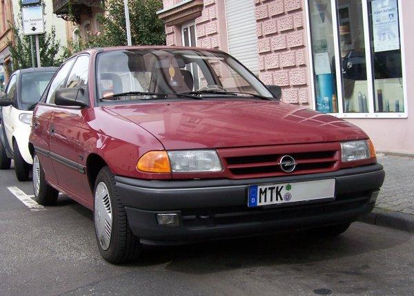 Opel Astra F - Wikiwand