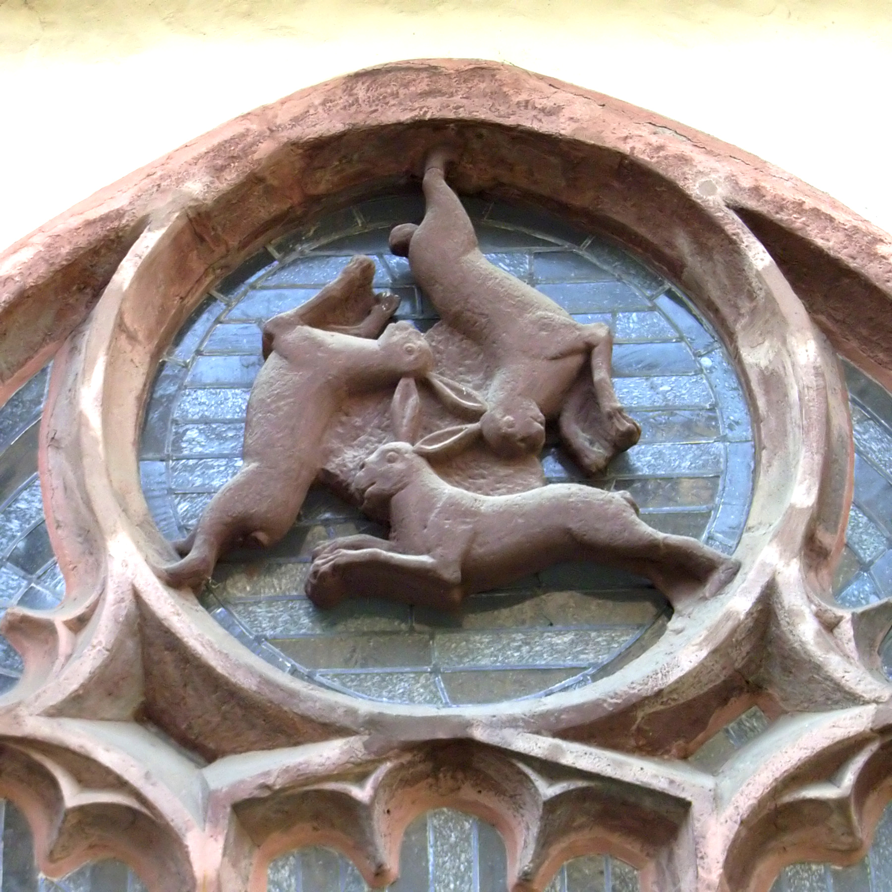 Ancient Symbols The Puzzle Of The Three Hares Under The Influence
