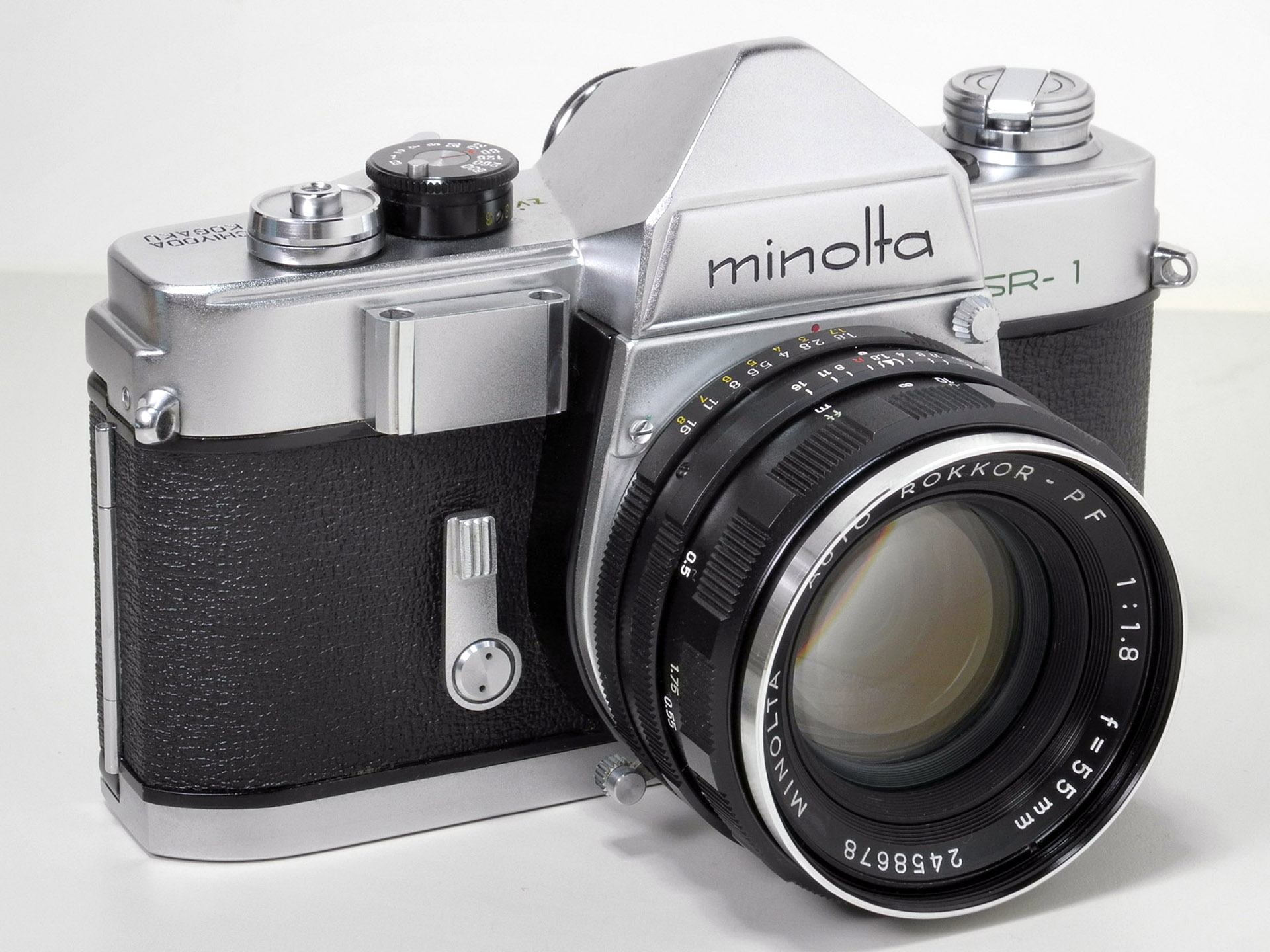 Minolta SR1 - Sem sapata de flash - hotshoe