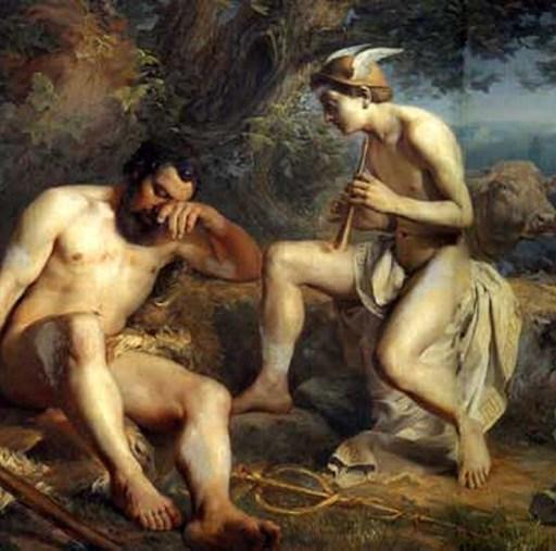 Меркурий усыпляет Аргуса