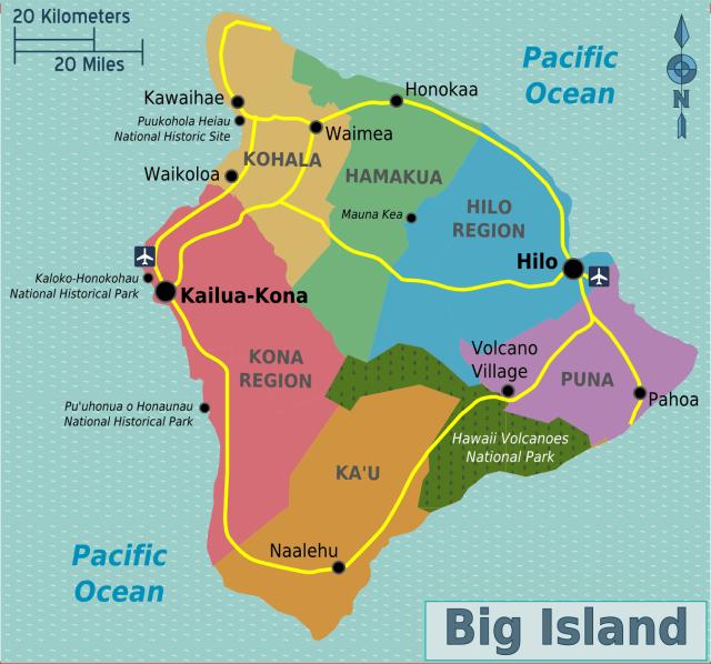 Image result for hawaii regions