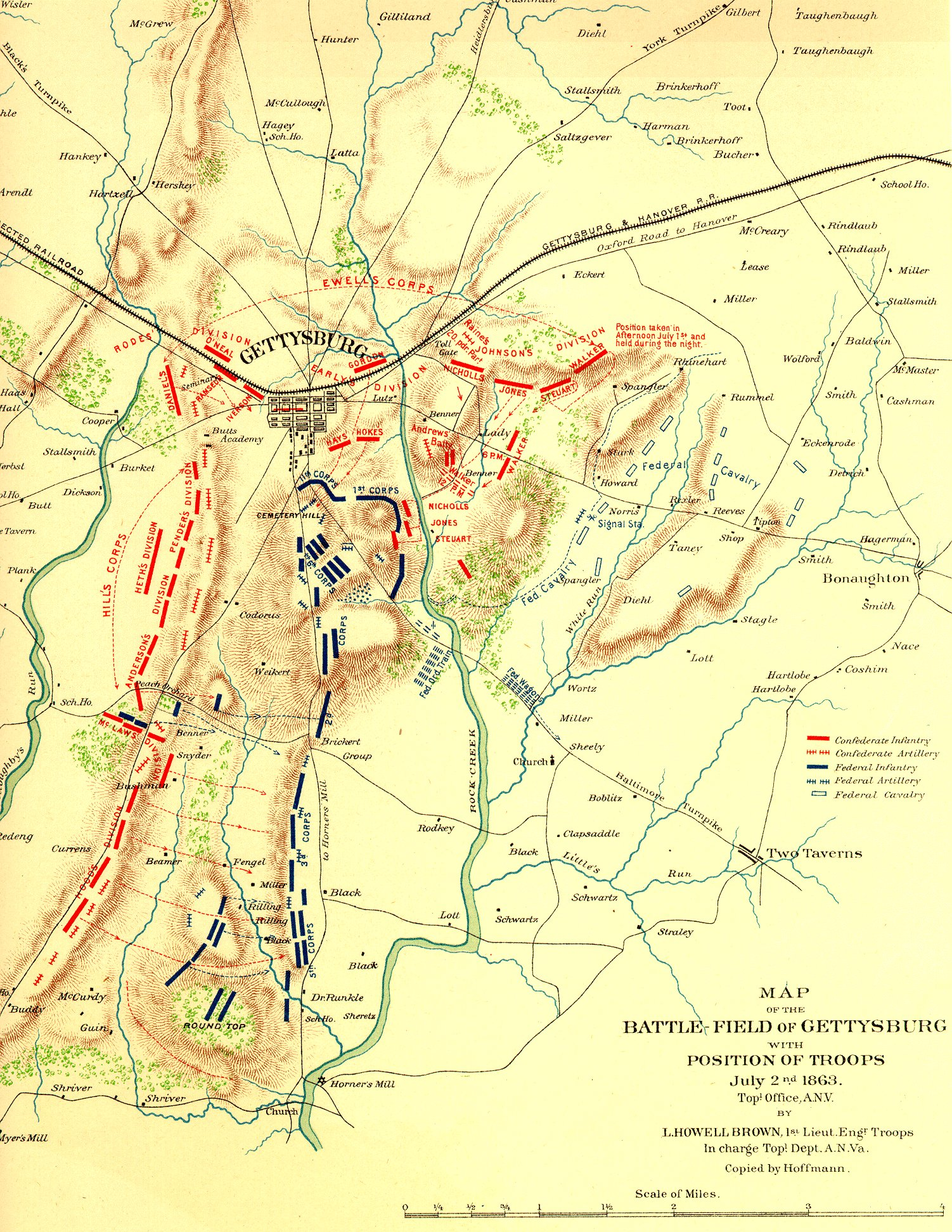 File Gettysburg Topographical Map