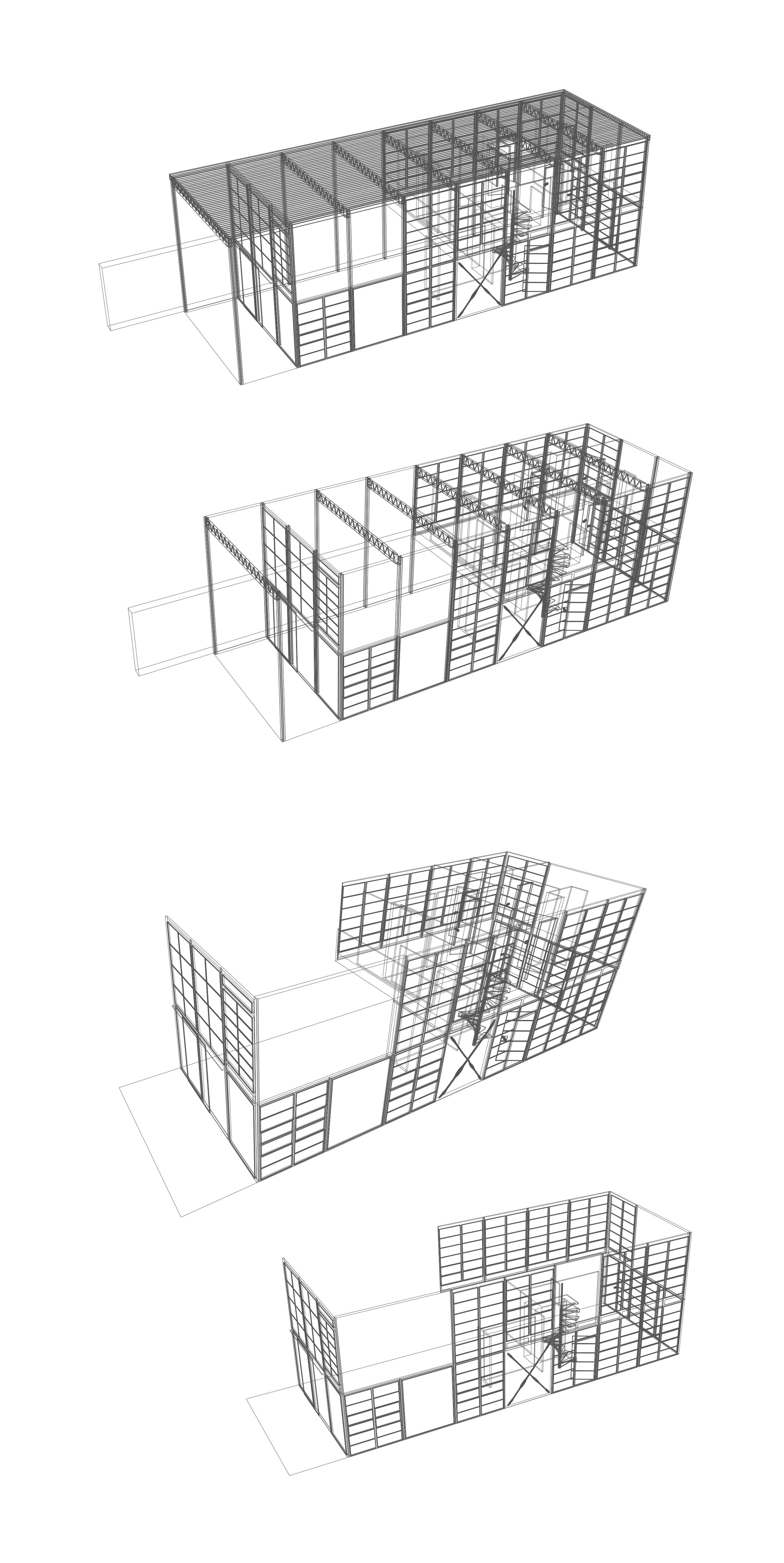 File Isometricas Casa Eames