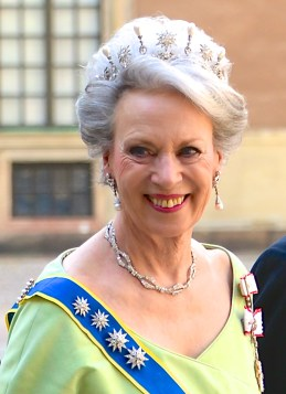 Princess Benedikte of Danmark and Sayn-Wittgenstein-Berleburg. Photo: Frankie Fouganthin via Wikimedia Commons.