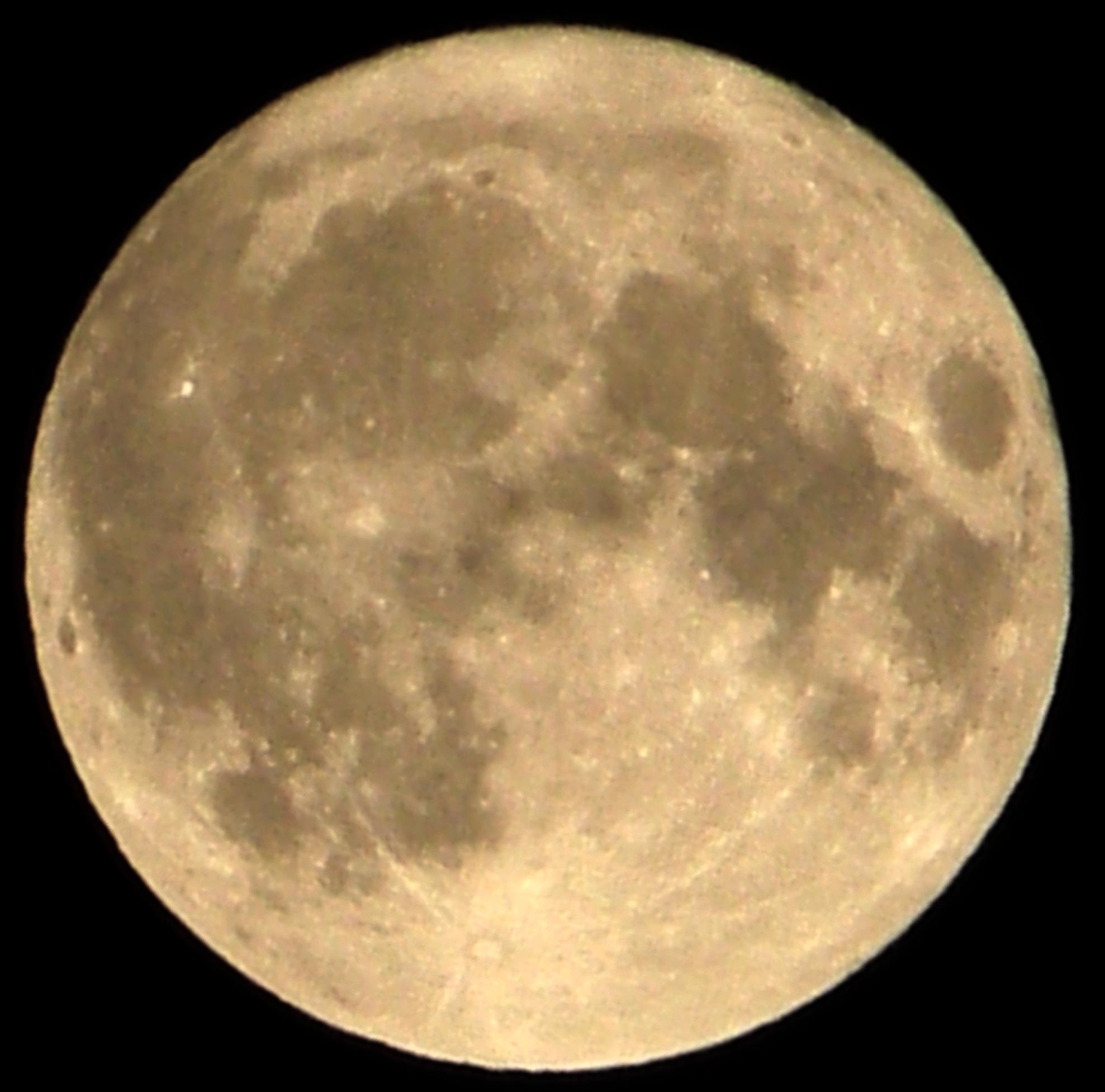 English: A supermoon is a perigee-syzygy, a ne...