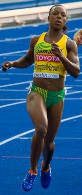 Veronica Campbell-Brown, Berlin 2009