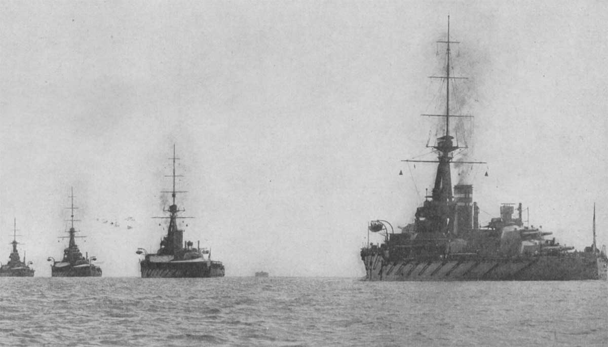 The Royal Navy Grand Fleet