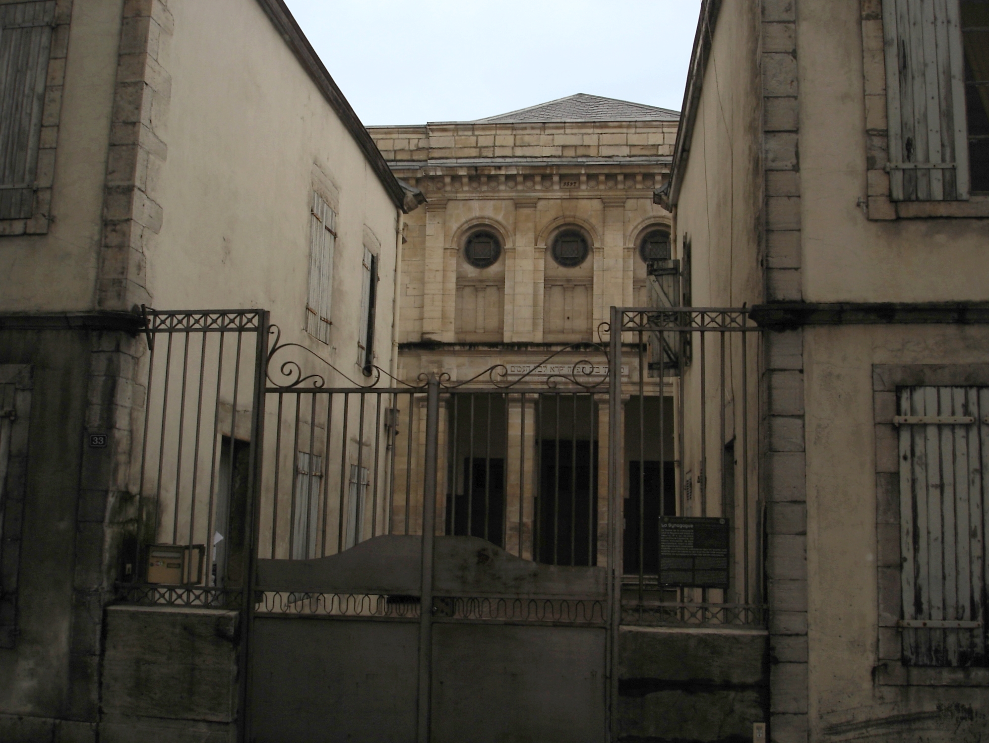 synagogue de bayonne wikipedia