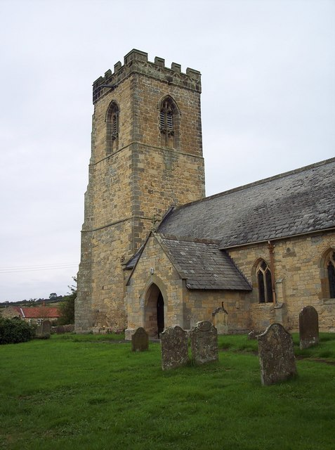 File:St John's Church, Allerston - Tower - geograph.org.uk