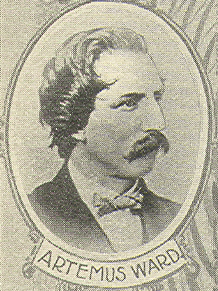 Artemus Ward, from book Wit and Humor of the A...
