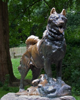 chien - Balto - statue de Central Park