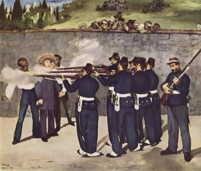 Image result for Execution of the Emperor Maximilian