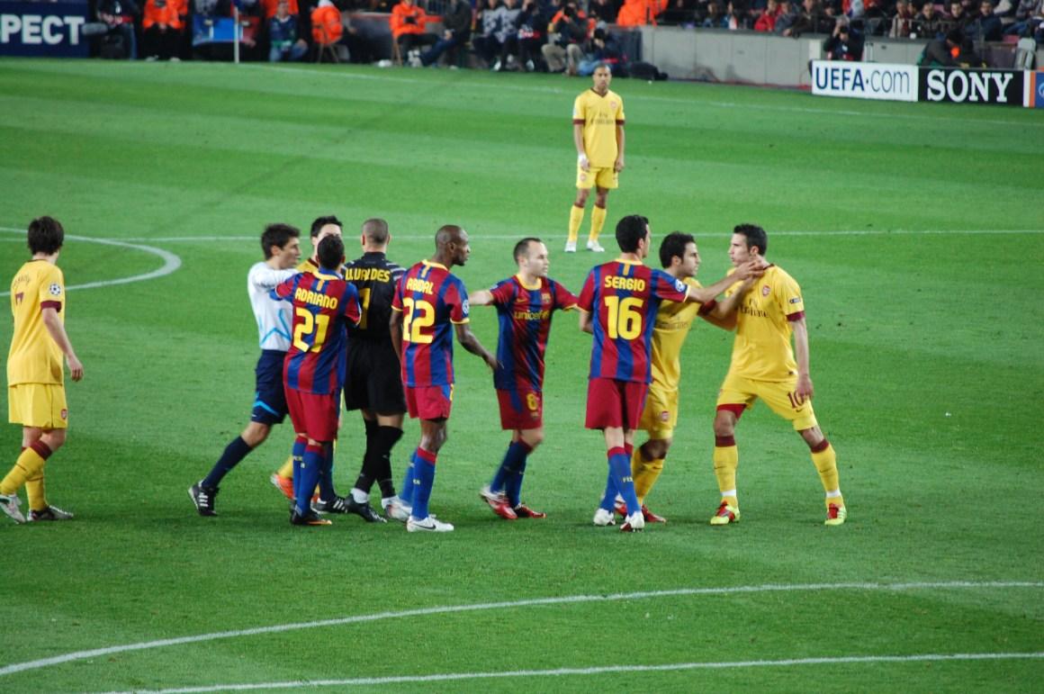 File:FC BARCELONA - ARSENAL 8 MAR 2011.jpg - Wikimedia Commons