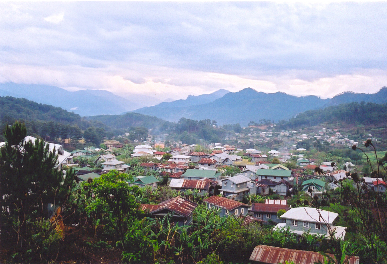 A view over the municipality of Sagada