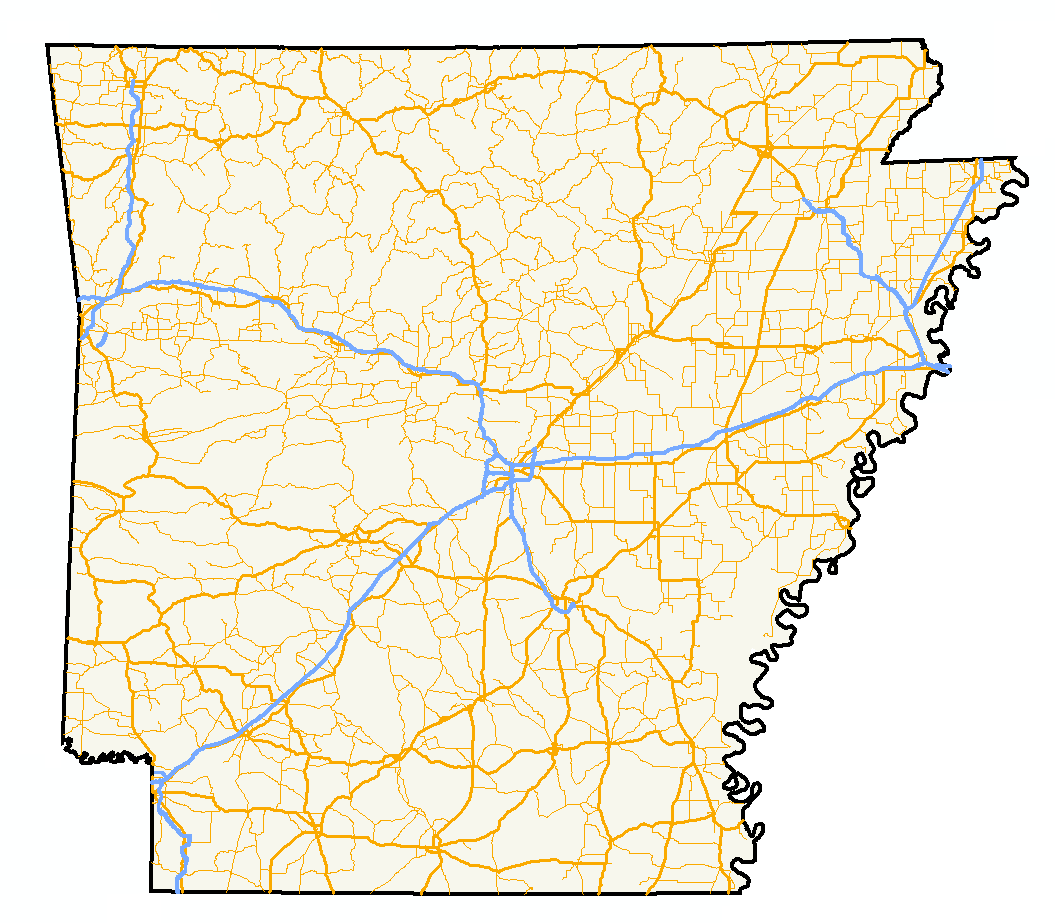 List Of State Highways In Arkansas