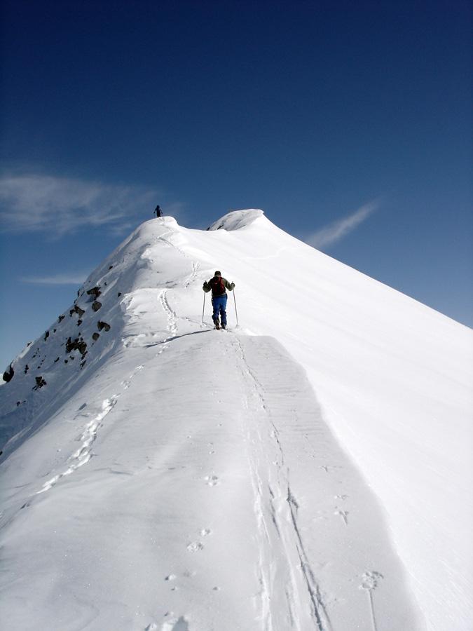 English: Climb to Piz Toissa, Salouf, Grison, ...