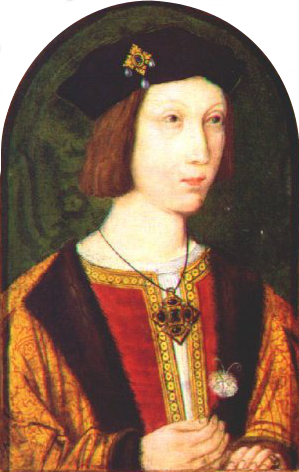 Prince Arthur: Oldest son of King Henry VII. Died aged 15 in 1502