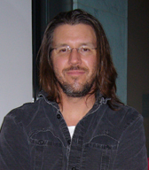 English: David Foster Wallace at the Hammer Mu...