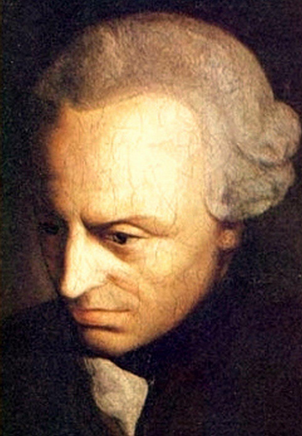 Immanuel Kant. Immagini di dominio pubblico.