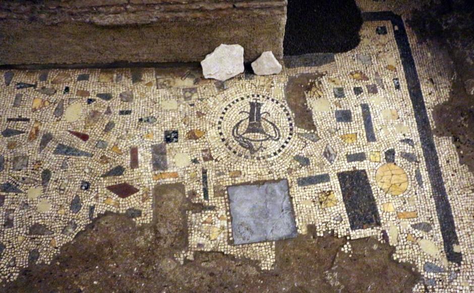 Subterrâneios da Basílica de Santa Cecília em Trastevere, Roma