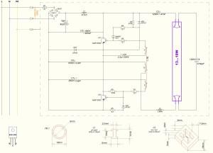 File:Wiring diagram of electronic ballastJPG  Wikimedia