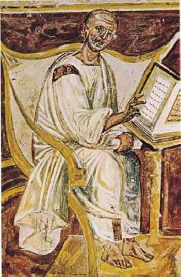 The earliest portrait of Saint Augustine in a ...