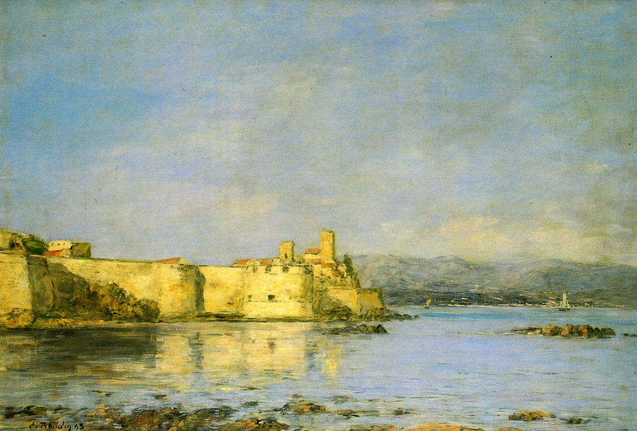 Antibes by Eugene Boudin