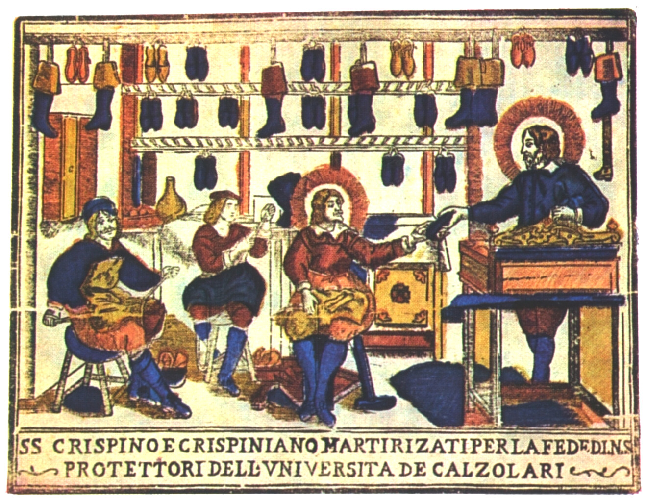 SANTOS CRISPÍN Y CRISPINIANO